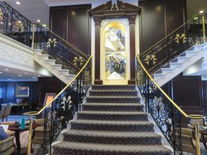 Pacific Princess Stairs